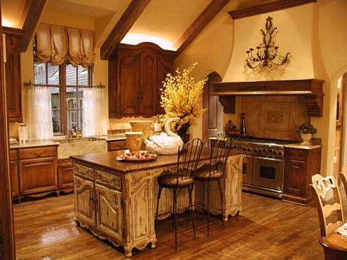 french kitchen style. Southern Plantation Styles